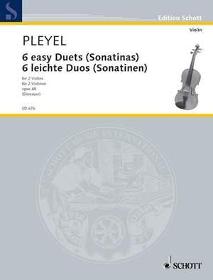 Pleyel, I J: 6 easy Duets op. 48