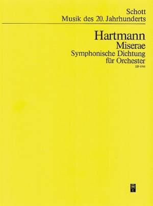 Hartmann, K A: Miserae