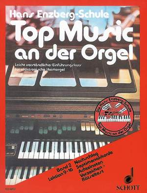 Enzberg, H: Top Music an der Orgel Band 2 Product Image