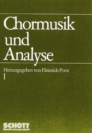 Chormusik und Analyse Teil 1 Product Image