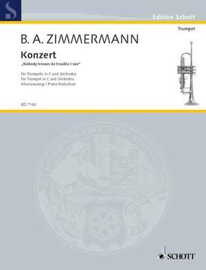 Zimmermann, B A: Trumpet Concerto