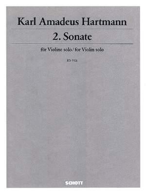 Hartmann, K A: 2. Sonata