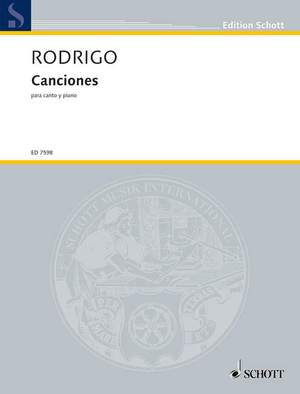 Rodrigo, J: Canciones