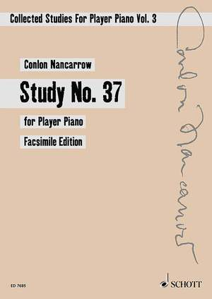 Nancarrow, C: Collected Studies for Player Piano Vol. 3