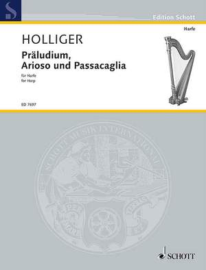 Holliger, H: Preludes, Arias and Passacaglia