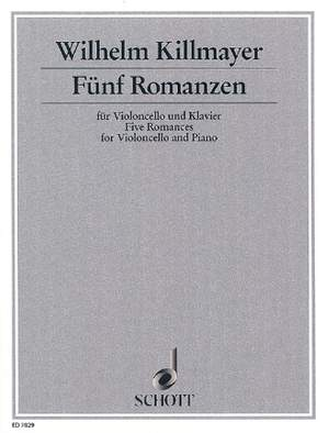 Killmayer, W: Five Romances