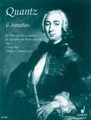 Quantz, J J: Six Sonatas op. 1 Vol. 2