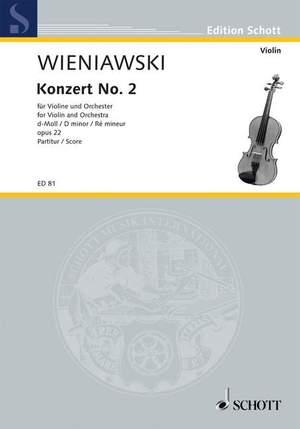 Wieniawski, H: Violin Concerto No. 2 in D Minor op. 22