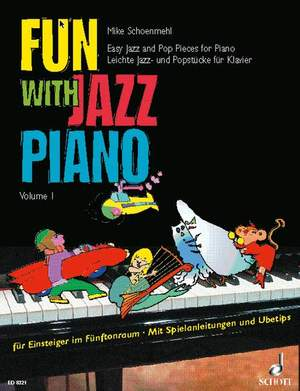 Schoenmehl, M: Fun with Jazz Piano Band 1