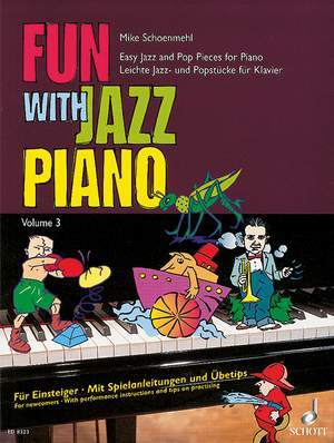 Schoenmehl, M: Fun with Jazz Piano Band 3
