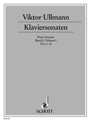 Ullmann, V: Piano Sonatas Band 1 Product Image