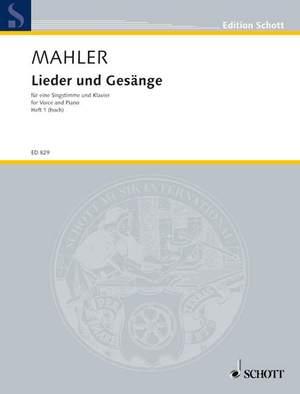Mahler, G: Lieder und Gesänge Volume 1 (High Voice)