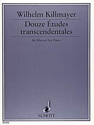 Killmayer, W: Douze Études transcendentales
