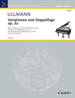 Ullmann, V: Variations and Double Fugue op. 3a Product Image
