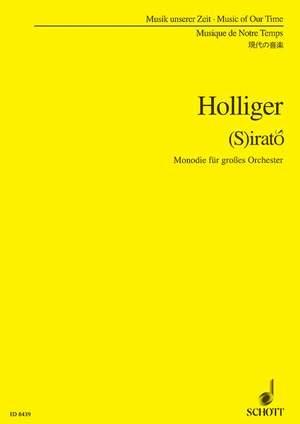Holliger, H: (S)irató