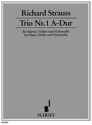 Strauss, R: Trio No. 1 A major o. Op. AV. 37