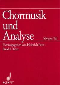 Chormusik und Analyse   Teil 2