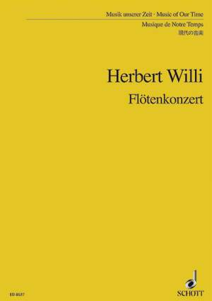 Willi, H: Flute Concerto Product Image