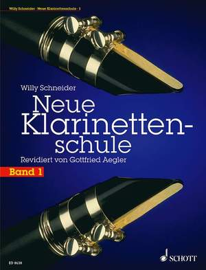Schneider, W: New Clarinet School Band 1 Product Image