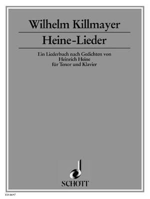 Killmayer, W: Heine Songs