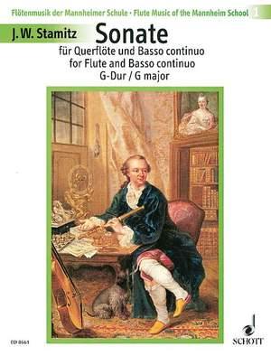 Stamitz, J W A: Sonata G major