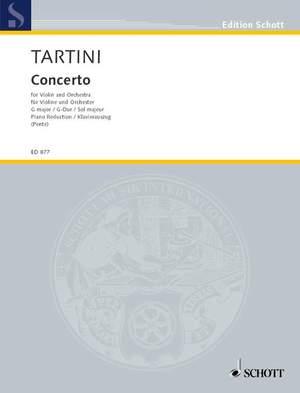 Tartini, G: Concerto in G Major Product Image