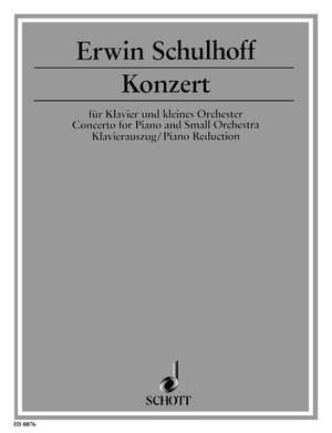 Schulhoff, E: Concerto op. 43