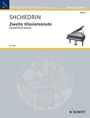 Shchedrin, R: Second Piano sonata