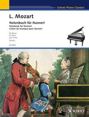 Mozart, L: Notebook for Nannerl