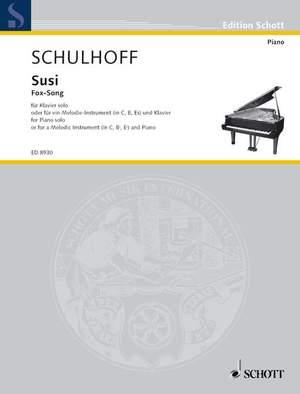 Schulhoff, E: Susi