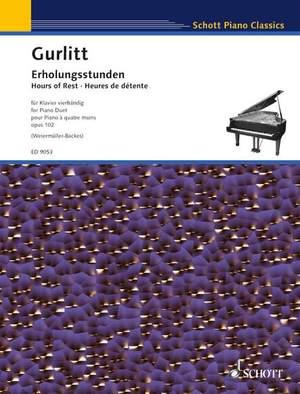 Gurlitt, C: Hours of Rest op. 102