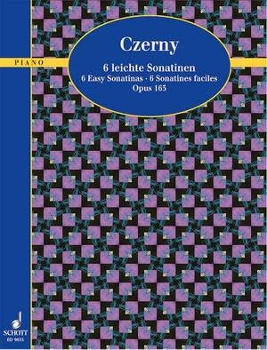 Czerny, C: Six Easy Sonatinas op. 163