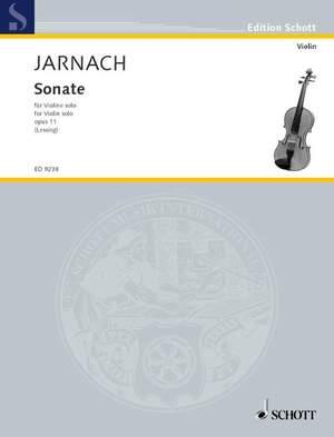 Jarnach, P: Sonata op. 11