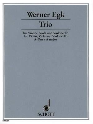 Egk, W: Trio A Major