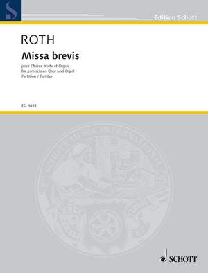 Roth, D: Missa brevis Product Image