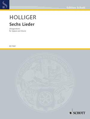 Holliger, H: Six Songs