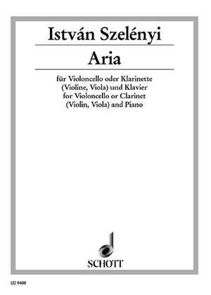 Szelényi, I: Aria