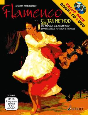 Graf-Martinez, G: Flamenco Guitar Method Vol. 1