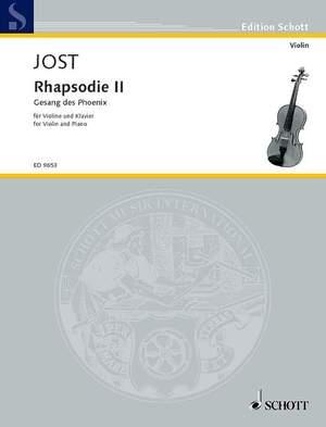 Jost, C: Rhapsodie II