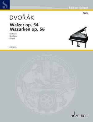 Dvorák, A: Waltzes and Mazurkas op. 54 und 56