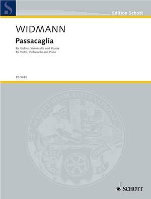 Widmann, J: Passacaglia