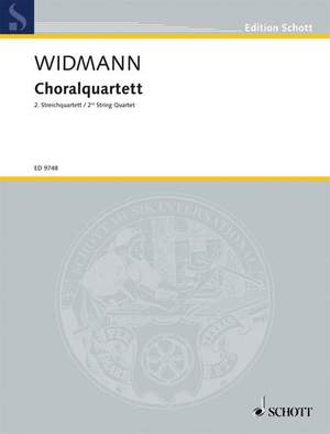 Widmann, J: Choral Quartet