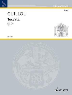 Guillou, J: Toccata op. 9