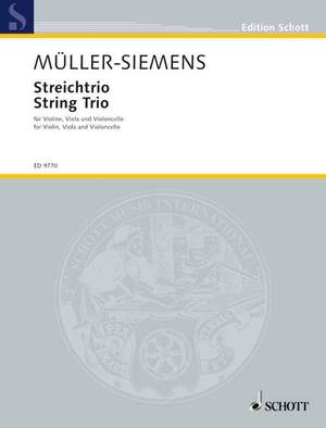 Mueller-Siemens, D: String trio