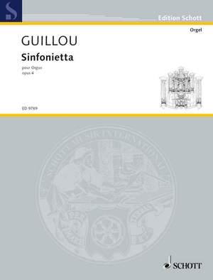 Guillou, J: Sinfonietta op. 4