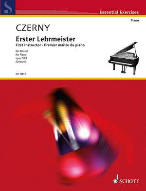 Czerny, C: First Instructor of the Piano op. 599 Product Image