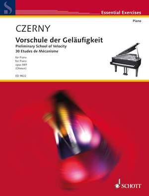 Czerny, C: Preliminary School of Velocity op. 849
