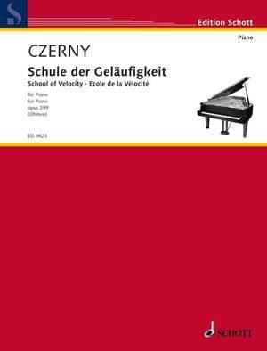 Czerny, C: School of Velocity op. 299 Product Image