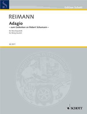 Reimann, A: Adagio