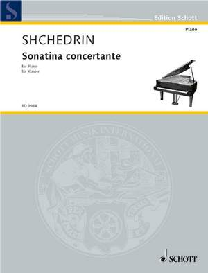 Shchedrin, R: Sonatina concertante